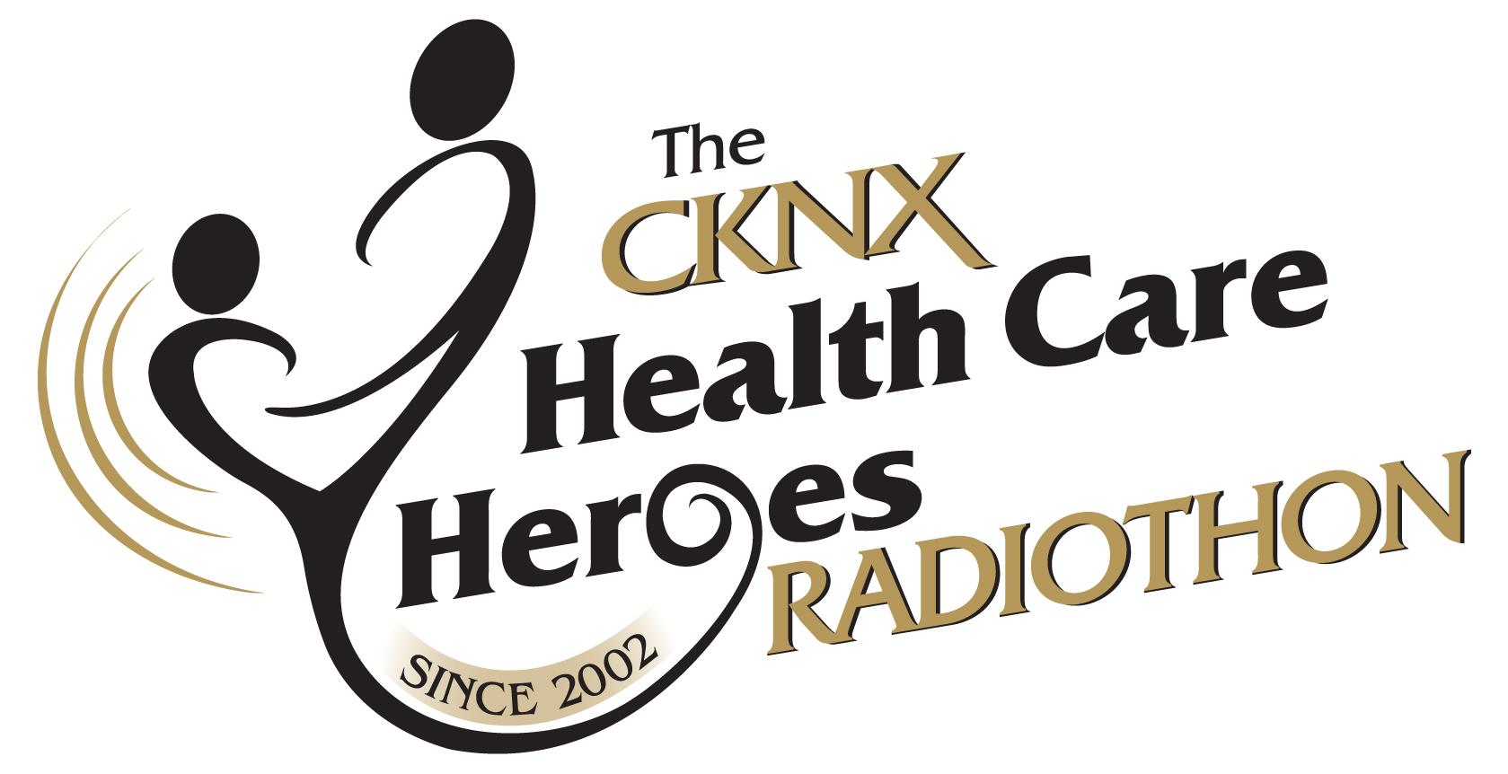 The CKNX Health Care Heroes Radiothon Logo